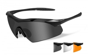 Okulary WileyX Vapor Grey / Clear / Light Rust Lens / Matte Black Frame 3502