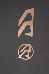 Alpha X Logo Copper /Lewe
