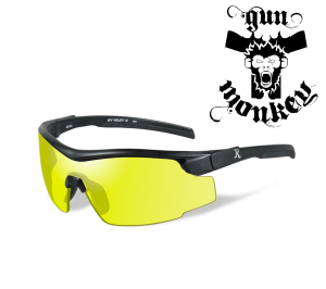 Okulary Remington Platinum MALE Matte Black w/Yellow RE102