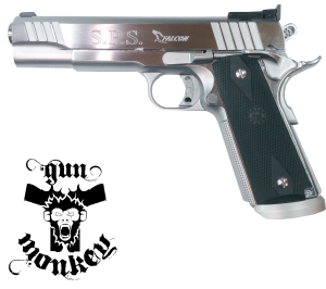 Pistolet SPS Falcon Uno (Chrome)