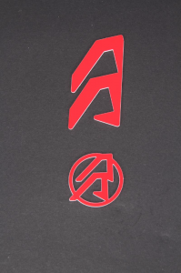 Alpha X Logo Red / Lewe