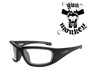 Okulary WileyX BOSS Clear Lens / Matte Black Frame CCBOS03