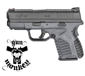 "Pistolet XDS 3,3 "" 9mm Grafitowy"