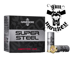 "Am.Śru.Gamebore 12/65 Super Steel Comp HV 21g ""7,5"" Trap (Plastic) op=25szt"