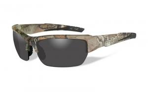Okulary WileyX Valor Smoke Grey Lens / Realtree Xtra Camo Frame CHVAL03