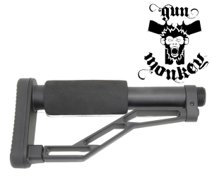 Kolba sportowa stała do AR Nord Arms + Buffer+ spring (Stock with Wavy Contour) (NA-ST223-W)