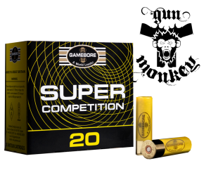 "Am.Śru.Gamebore 20/70 Competition 24g ""9"" Skeet (Plastic) op=25szt"