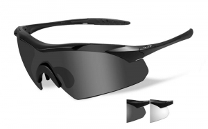 Okulary WileyX Vapor Grey / Clear Lens / Matte Black Frame 3501