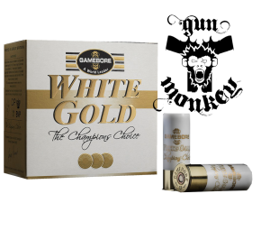 "Am.śrut.Gamebore kal. 12 White Gold Original ""8"" 28g op=25szt"
